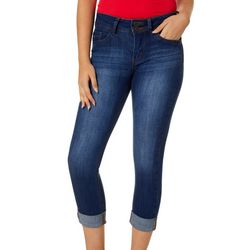 Indigo Rein Juniors Roll Cuff Cropped Jeans