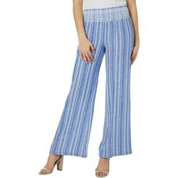 Indigo Rein Juniors Chambray Striped Beach Pants