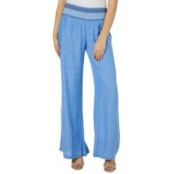 Indigo Rein Juniors Chambray Solid Beach Pants