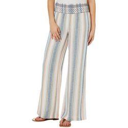 Indigo Rein Juniors Striped Linen Beach Pants