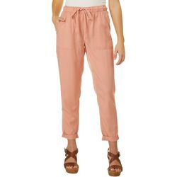 Indigo Rein Juniors Solid Soft Pull On Pants