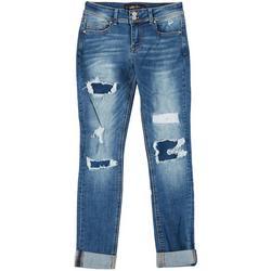 Juniors Repreve Cuffed Skinny Jeans