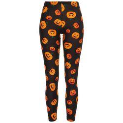 No Comment Juniors All-over Pumpkin Leggings