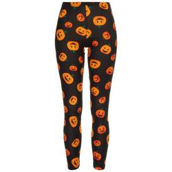 Juniors All-over Pumpkin Leggings