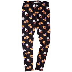 No Comment Juniors All-over Halloween Cupcake Leggings