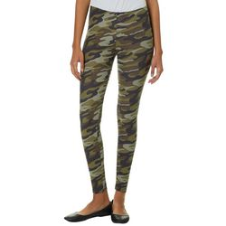 Derek Heart Juniors Camo Print Leggings