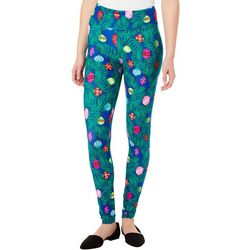 Derek Heart Juniors Christmas Ornament Leggings