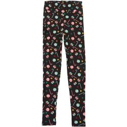 Juniors Xmas Candy Gift Leggings