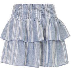 Wallflower Layered Striped Skirt
