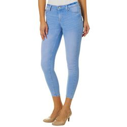 Celebrity Pink Juniors Whiskered Curvy Fit Denim Jeans