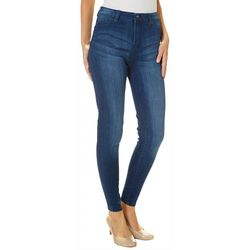 Celebrity Pink Juniors High Rise Whiskered Skinny Jeans