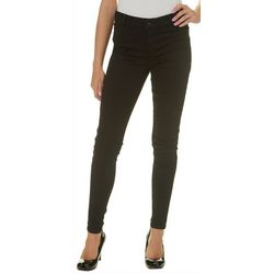 Celebrity Pink Juniors Solid Mid Rise Skinny Jeans