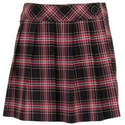 Joe B by Joe Benbasset Juniors Plaid Wrap Skirt