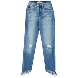 KanCan Juniors High Rise Distressed Skinny Ankle Jeans
