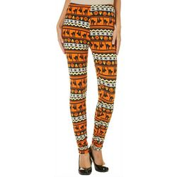 Just One Juniors Scary Cat Candy Leggings