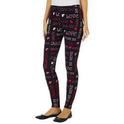 Just One Juniors Valentine Leggings
