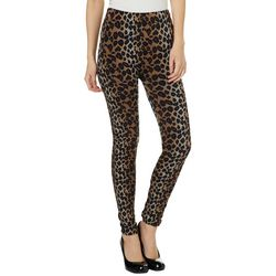 Just One Juniors Seamless Cheetah Print Leggings