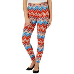 Just One Juniors Chevron Print Leggings