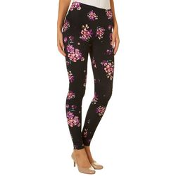Just One Juniors Vibrant Floral Leggings