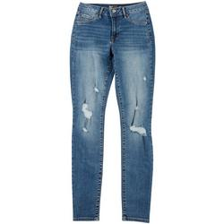 Juniors Distressed Denim Jegging