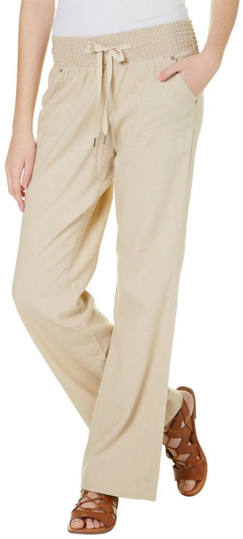 Rewash Juniors Solid Linen Pants Bealls Florida