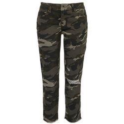 Rewash Juniors Mid Rise Ultra Stretch Camo Jersey Jeans