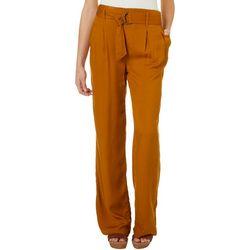 Rewash Juniors Solid Belted Trouser Pants