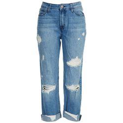 Rewash Juniors High Rise Straight Leg Jeans