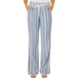 Rewash Juniors Striped Linen Pants