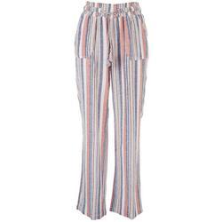 Juniors Striped Beach Pants