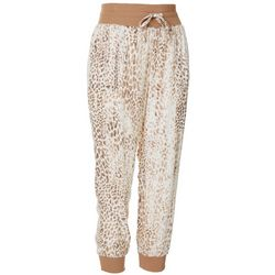Juniors Animal Print Jogger Pants