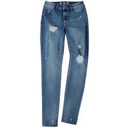 Juniors Mid Rise Eco Skinny Jeans