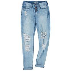 Rewash Juniors Vintage Reunion Skinny Jeans