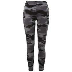 Ready To Go Juniors Camo Pocketed Yummy Leggings