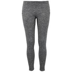 Juniors Solid Pocketed Yummy Leggings