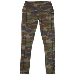 Ready To Go Juniors Camo Pull On Pocket Yummy Leggings