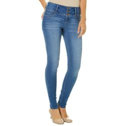 Blue Spice Juniors Padded Denim Skinny Jeans
