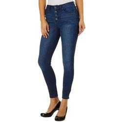 Sound Girl Juniors Retro High Rise Skinny Jeans