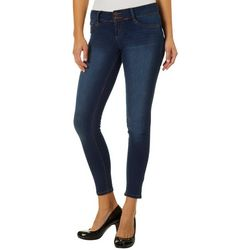 Sound Girl Juniors Faded Rocker Low Rise Skinny Jeans