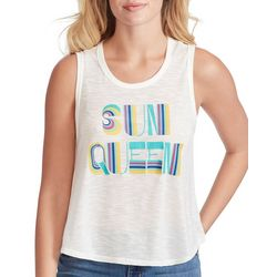 Jessica Simpson Womens Sun Queen Sleeveless Top