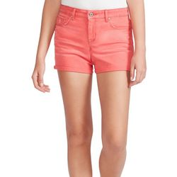 Jessica Simpson Womens Froever Denim Roll Cuff Shorts