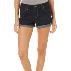 Jessica Simpson Womens Forever Denim Roll Cuff Shorts