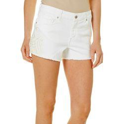 Jessica Simpson Womens Cherish Classic Twill Shorts