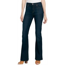 Jessica Simpson Womens High Rise Flared Denim Jeans