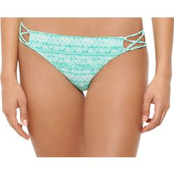 Hot Water Juniors Water Temperature Hipster Swim Bottoms