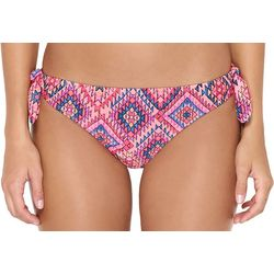 Hot Water Juniors Navajo Beach Tie Side Bikini Swim Bottoms