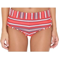 Hot Water Juniors Sweet Horizon Stripe Bikini Swim Bottoms