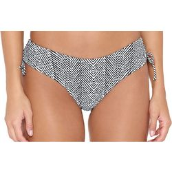 Hot Water Juniors Swahili Nights Chevron Swim Bottoms