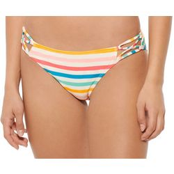 Hot Water Juniors Chroma Strappy Hipster Swim Bottoms