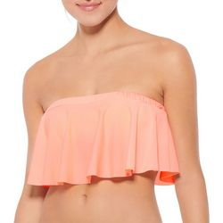 Hot Water Juniors Candy Drop Flounce Bandeau